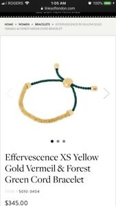 Links of London Gold Vermeil and Silver Effervecence Bracelets