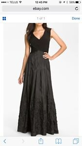Formal floor length Pasha dress brand in black