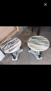 2 side tables $30 for both