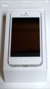 iPhone 5 - white. 64 gb storage   Excellent condition