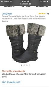 Ladies size 7 and size 7 winter boots brand new w/tag