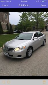 2010 TOYOTA CAMRY LE 4cyl  CERTIFIED