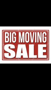 Moving sale in Schomberg. All must go.
