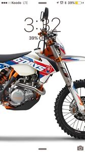 2016 KTM EXC 500 6 days street legal