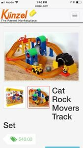 Rock movers track set
