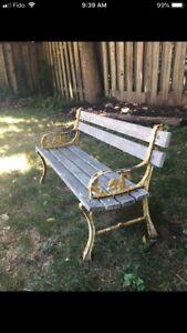 3ft. Vintage Bench