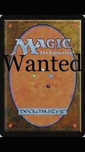 <~~~* LOOKing for old magic card collections mtg