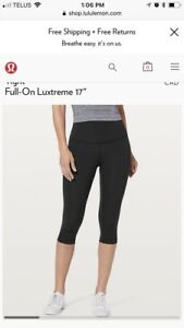 Lululemon size 8 good quality