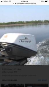 1967 Johnson 6hp outboard
