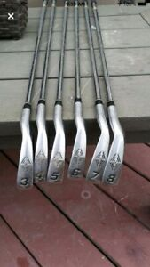 Golf clubs set from 3 iron to 8 iron!