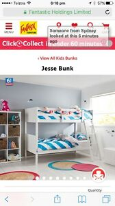 Bunk beds and mattress Keperra Brisbane North West Preview