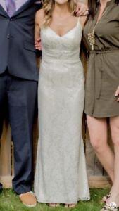 Wedding dress for sale, size 4