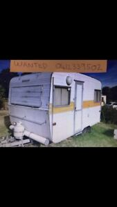 Wanted: WANTED OLD CARAVANS CASH PAID