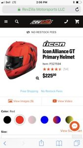 XXL icon helmet