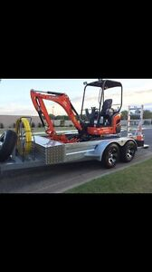 3.5 tonne tandem plant trailer Burpengary Caboolture Area Preview