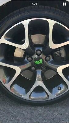 888 A set of 4x56mm logo wheel hub cover center cover badge logo stickers,Suitable for Skoda black