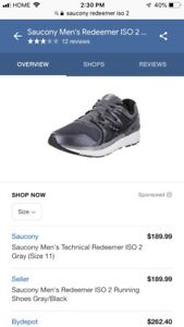 Saucony Redeemer ISO 2 running shoes