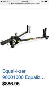 Equalizer, sway control, torsion bars, hitch, camping, trailer