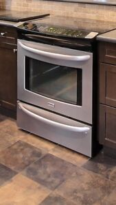Kenmore Convection Oven with Glass top 5 burner range