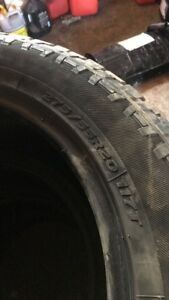 275/55R20 pathfinder all terrain tires
