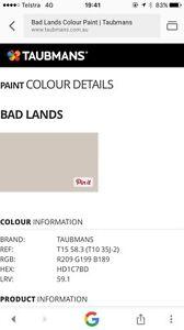 Paint - Taubmans Endure 10 Litres Interior Taren Point Sutherland Area Preview