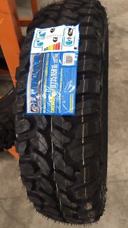 NEW MUD TERRAIN LANDCRUISER TYRES