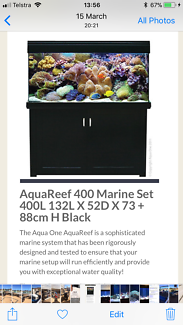 Aqua Reef 400 Salt Water Aquarium