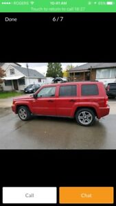 Need gone 2008 jeep patriot