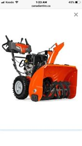 Husqvarna 30-in 291cc 2-Stage Located in wainwright