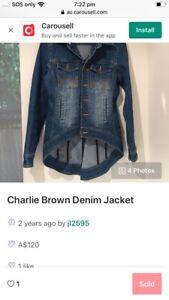 Charlie Brown denim jacket