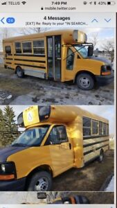 Looking for a kind property owner to let us park our bus!