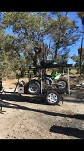 3 motorbike trailer Butler Wanneroo Area Preview