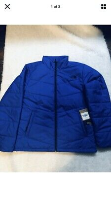 North Face Mens Insulated Jacket Blue Brand New With Tags Size XL Urban Explore