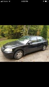 2000 Honda Civic 61,000 original kilometers mature owner