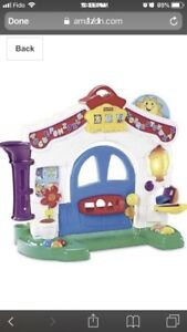 Fisher price laugh and learn house (French) OBO