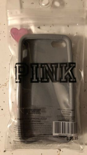PINK Cell Phone Case IPhone 5/5s Sparkly Gray With Christmas Lights NWT - $7.25