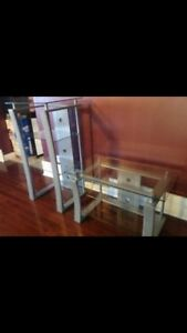Tv stand and stereo stand