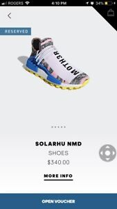Solar pack Nmd Hu size 9.5