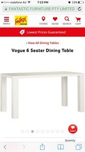 6 seater dining table and chairs Mango Hill Pine Rivers Area Preview
