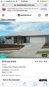 4 bedroom 2 bathroom house for rent PIMPAMA Pacific Pines Gold Coast City Preview