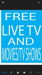 Android Box Live Channels/Sports/Movies/TV