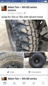 37s simex mudd tyres Dowerin Dowerin Area Preview
