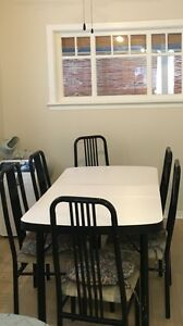 Dinning table with 6 chairs