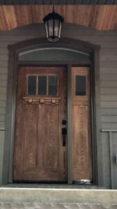 Craftsman door system
