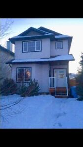 Fully furnished five bdrm home with  separate entrance basement