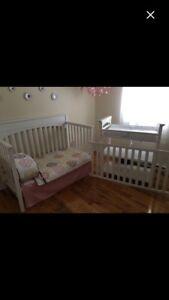 Bassinette blanche / white crib