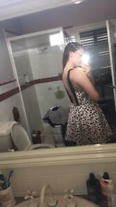 Backless cute dress Ascot Vale Moonee Valley Preview