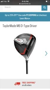 Taylor Made golf driver