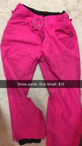 Snow pants size S