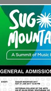 Sugar Mountain ticket for sale Princes Hill Melbourne City Preview
